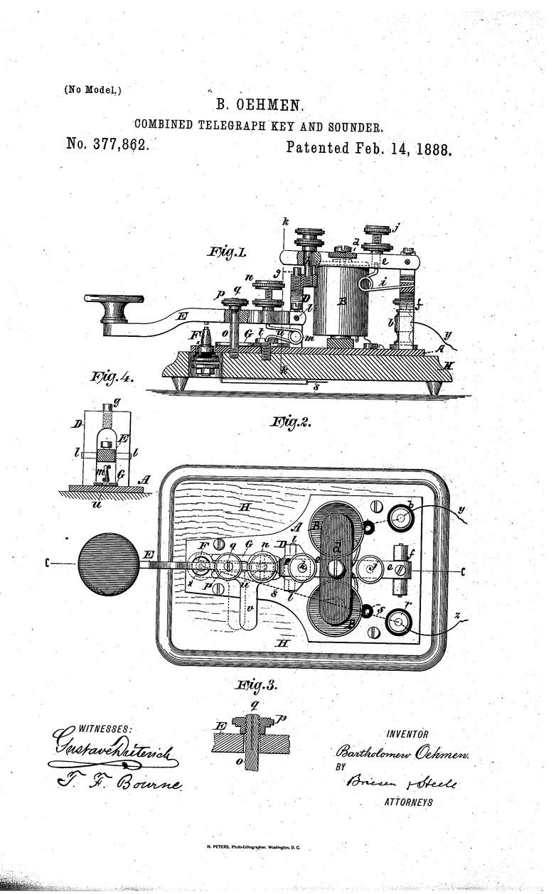 telegraph key diagram